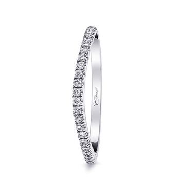 Coast 14k White Gold 0.18ct Diamond Wedding Band