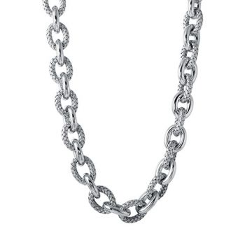 Charles Garnier Sterling Silver with CZ Madisson N18 Necklace