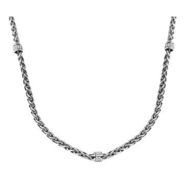 Charles Garnier Sterling Silver with CZ Cecilia N17 Necklace