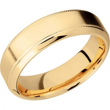 Lashbrook 14k Yellow Gold Men's Wedding Band