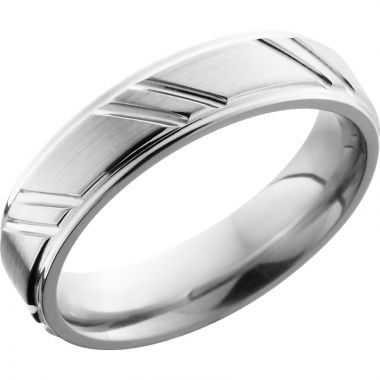 Lashbrook Cobalt Chrome 5mm Men's Wedding Band