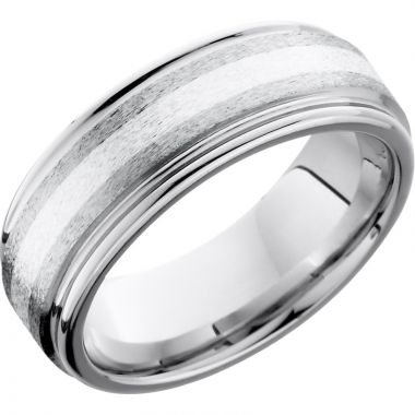 Lashbrook Cobalt Chrome Men's Wedding Band