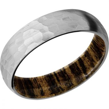 Lashbrook Titanium Hardwood 6mm Men's Wedding Band